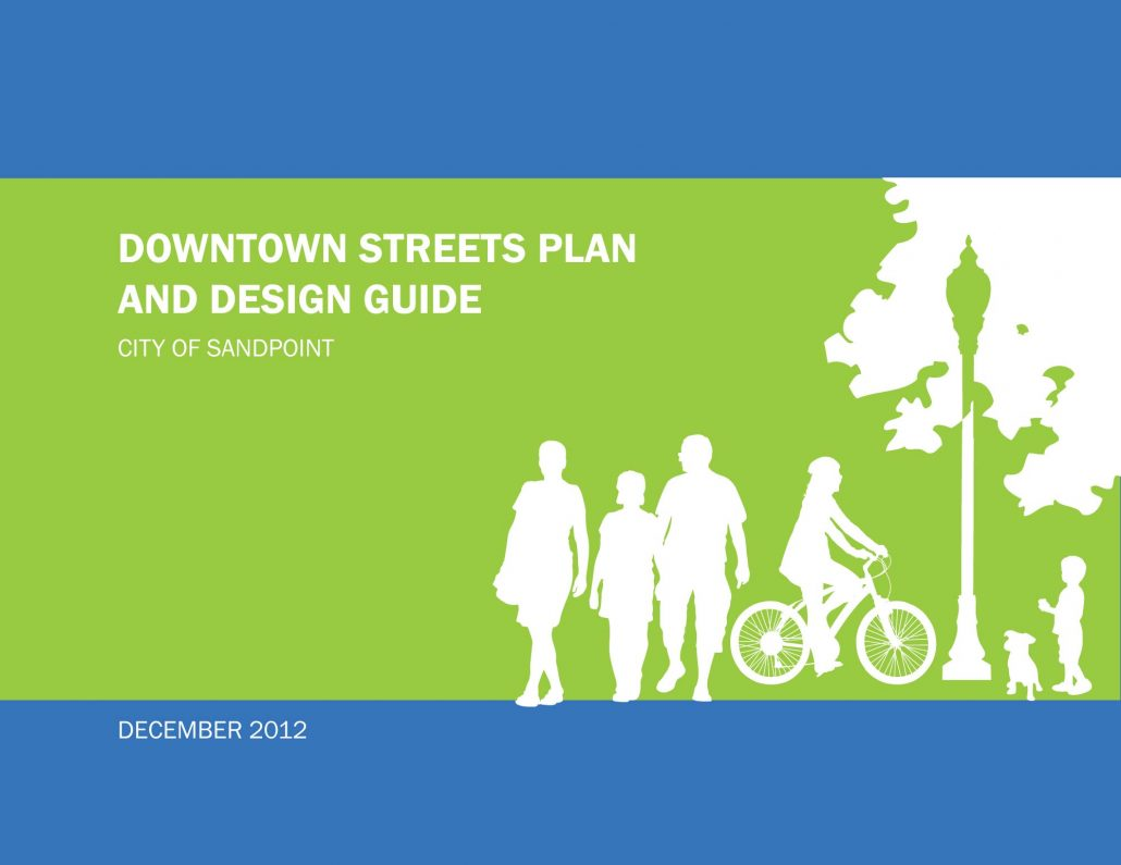 Downtown Sandpoint Streets Plan Design Guide